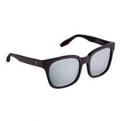 Elsa Lee Paris sunglasses, modern square frame made of plastic and in black color