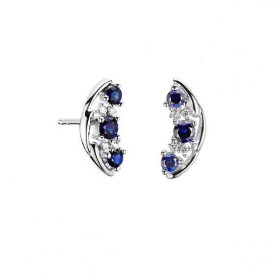 Saphir Earrings