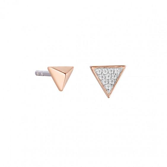 Boucles d'oreilles Triangle