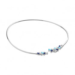 Collier Jonc Aquamarine