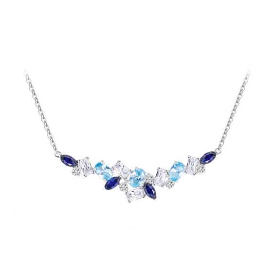 Collier Aquamarine