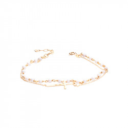 Bracelet chapelet Bohème