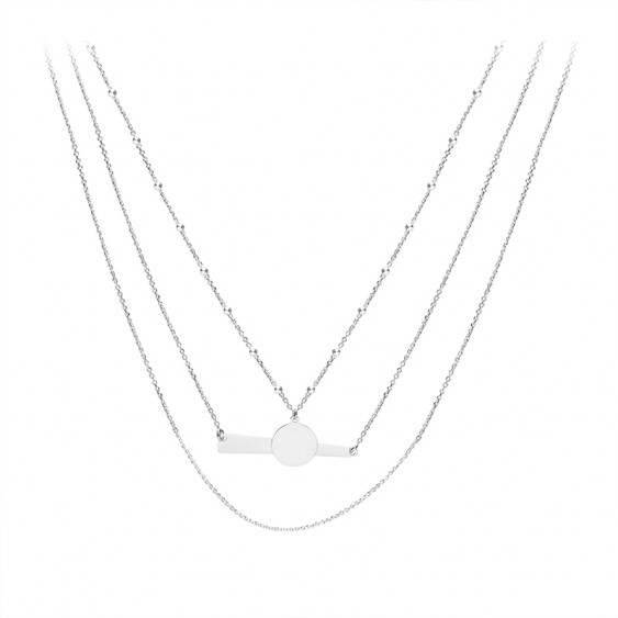 Collier 3 rangs Bohème