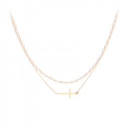 Collier 2 rangs Bohème