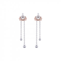 Boucles d'oreilles Ear Jacket Queen
