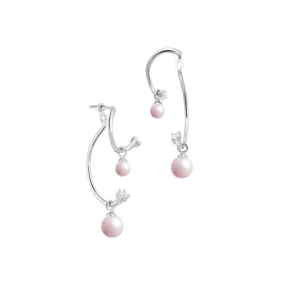 La Vie en Rose Ear Jacket Earrings