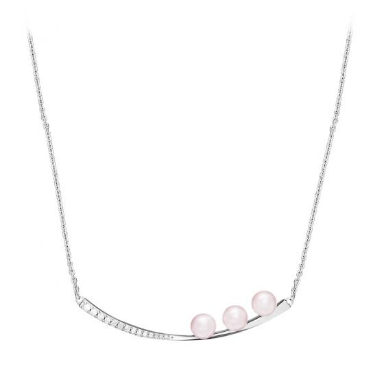 La Vie en Rose Onde Necklace
