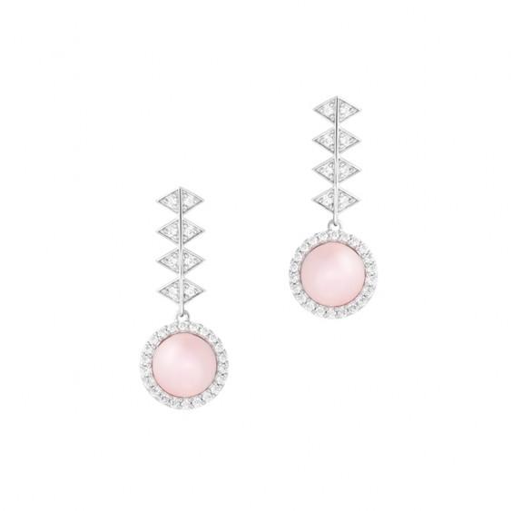La Vie en Rose Losange Earrings