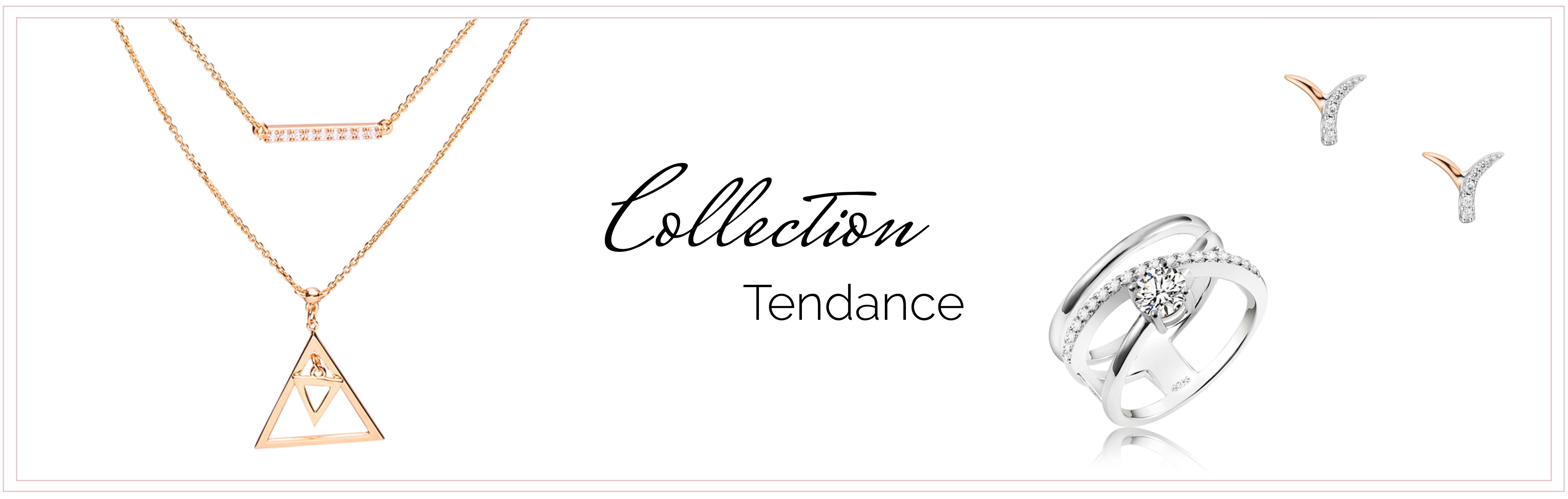 bijoux argent rhodié collection tendance
