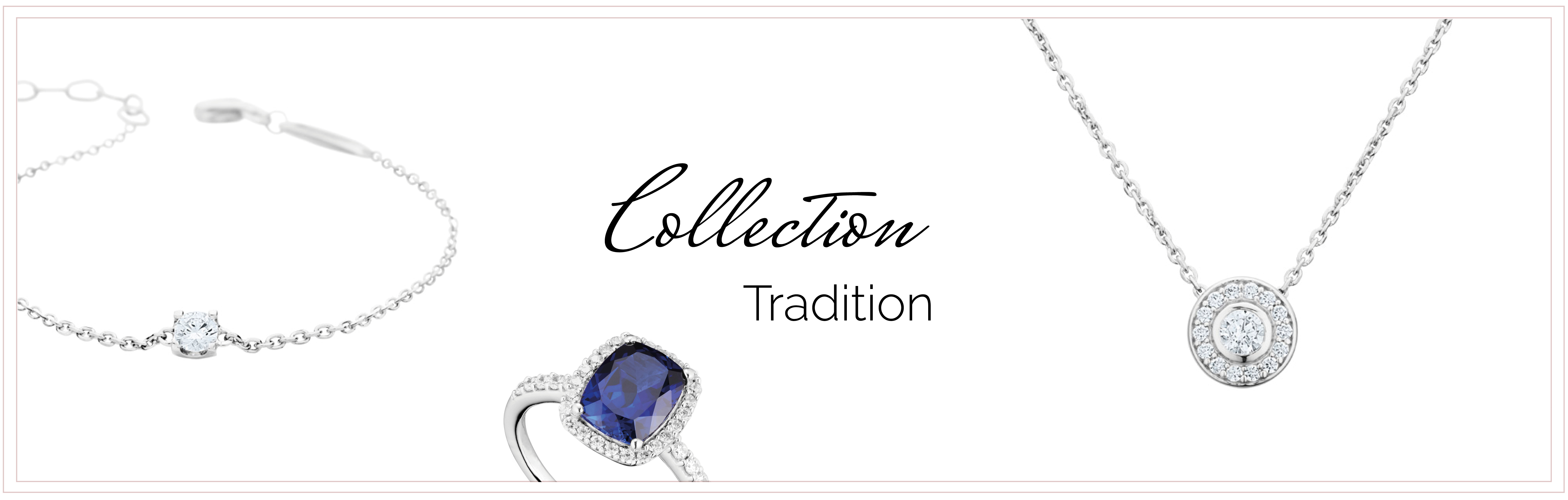 bijoux argent rhodié collection tradition