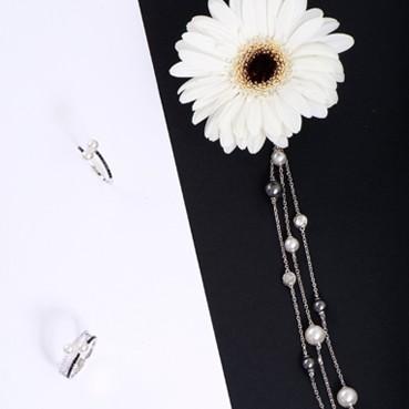 Elsa Lee Paris bijoux pour femmes en argent 925 avec perles de la collection tendance