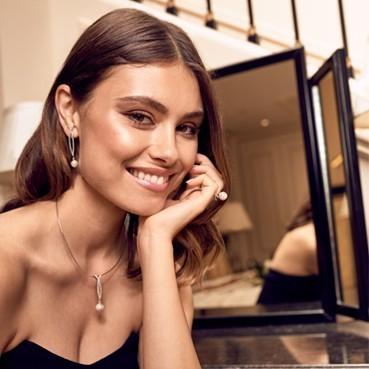 Elsa Lee Paris bijoux pour femmes en argent 925 avec perles