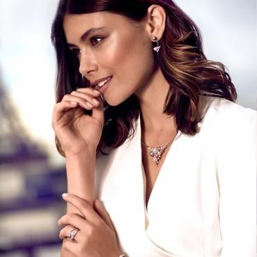 Elsa Lee Paris bijoux pour femmes en argent 925 avec perles de la collection La Vie en rose