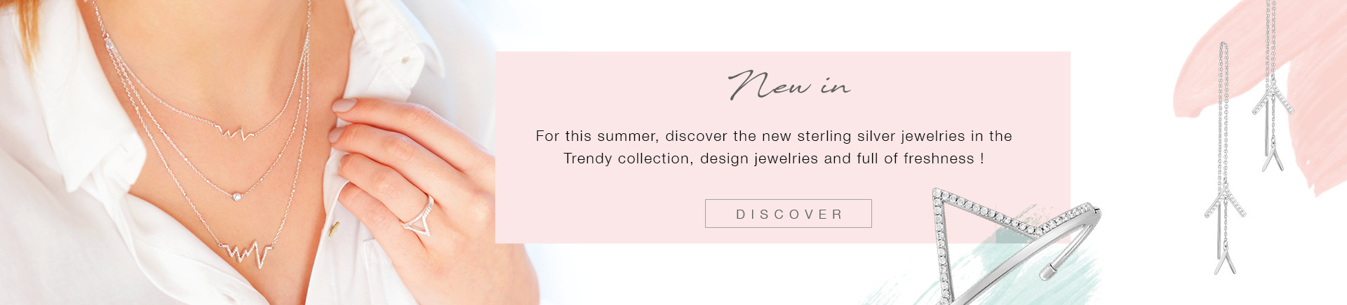 Original and fresh jewelry for your summer looks!