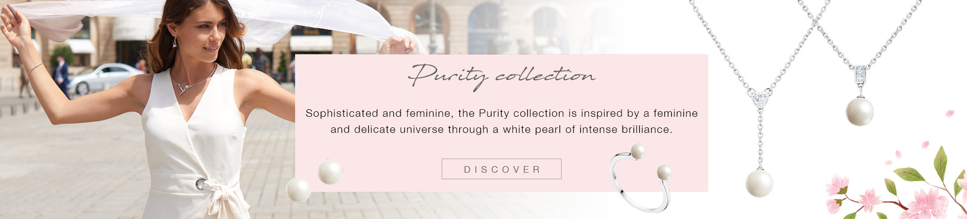 White pearls and sterling silver jewels for your pleasure